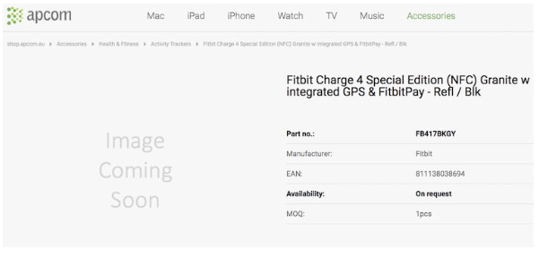 Daftar Fitbit Charge 4