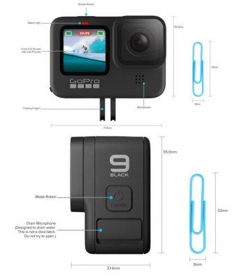Gopro Hero 9 Hadir Dengan Resolusi 5k Dual Layar Lensa Yang Bisa Diganti Doran