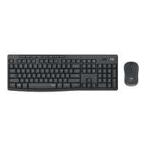 Silent Wireless Keyboard Logitech MK295 & Mouse Combo