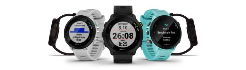 Garmin Forerunner 55, jam Garmin fr 55, smartwatch garmin forerunner 55